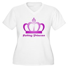 Fishing Princess - 3 T-Shirt