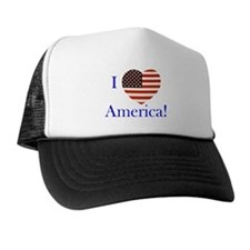 I Love America! Trucker Hat