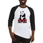 Crazy Panda Baseball Jersey