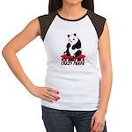 Crazy Panda Women's Cap Sleeve T-Shirt