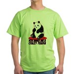 Crazy Panda Green T-Shirt