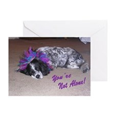 """Not Alone"" Greeting Cards (Pk of 20)"