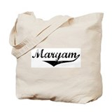 Maryam Vintage (Black) Tote Bag