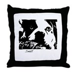 SWEET DOG BOSTON TERRIER Throw Pillow
