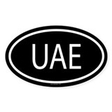 UAE Oval Decal