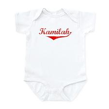 Kamilah Vintage (Red) Infant Bodysuit