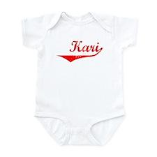 Kari Vintage (Red) Infant Bodysuit