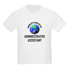 World's Greatest ADMINISTRATIVE ASSISTANT Kids Lig