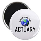 "World's Greatest ACTUARY 2.25"" Magnet (10 pack)"