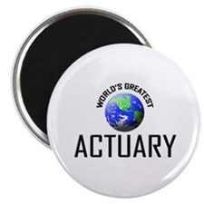 World's Greatest ACTUARY Magnet