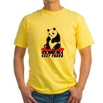 Sexy Panda Yellow T-Shirt