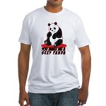 Sexy Panda Fitted T-Shirt