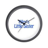 Riley's Little Sister Wall Clock