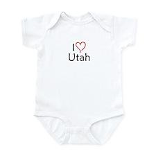 Utah Infant Bodysuit