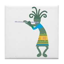 Kokopelli 11 Tile Coaster