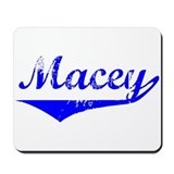 Macey Vintage (Blue) Mousepad