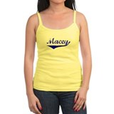 Macey Vintage (Blue) Ladies Top