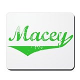 Macey Vintage (Green) Mousepad