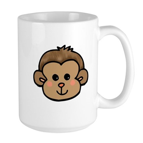 Monkey Face Large Mug