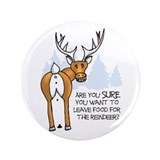"3.5"" Reindeer Button"