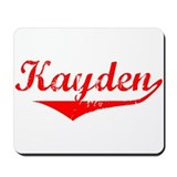 Kayden Vintage (Red) Mousepad