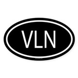 VLN Oval Decal