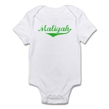 Maliyah Vintage (Green) Infant Bodysuit