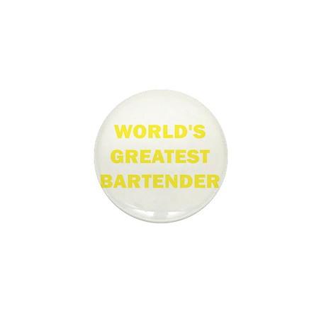 World's Greatest Bartender Mini Button