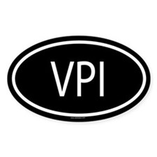 VPI Oval Decal