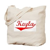 Keyla Vintage (Red) Tote Bag