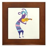 Kokopelli 15 Framed Tile
