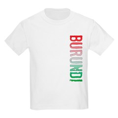 Burundi Stamp Kids Light T-Shirt