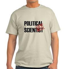 Off Duty Political Scientist Light T-Shirt