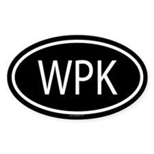 WPK Oval Decal