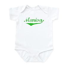Marisa Vintage (Green) Infant Bodysuit