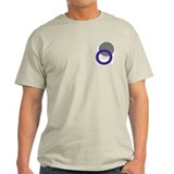 Dog BOwl Ash Grey T-Shirt