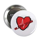 "Cardiac Rhythm 2.25"" Button"