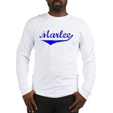 Marlee Vintage (Blue) Long Sleeve T-Shirt