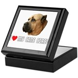 I Love My Cane Corso Keepsake Box