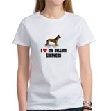 I Love My Belgian Shepherd Tee