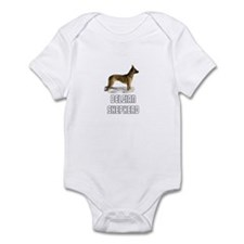 Belgian Shepherd Infant Bodysuit