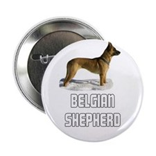 "Belgian Shepherd 2.25"" Button"