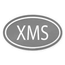 XMS Oval Decal