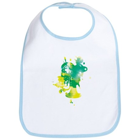 Paint Splat Tuba Bib