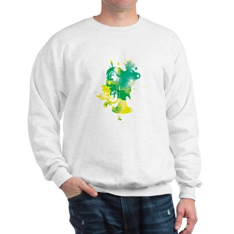 Paint Splat Tuba Sweatshirt