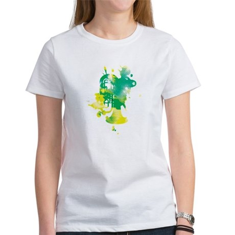 Paint Splat Tuba Women's T-Shirt