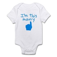 I'm This Many (1) Infant Bodysuit