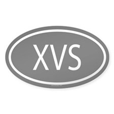 XVS Oval Decal