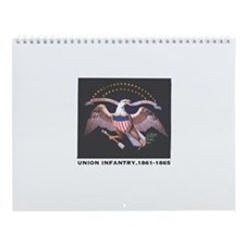 Union Infantry Wall Calendar