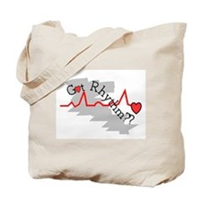 Cute Cardiac nurse Tote Bag
